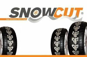 Snow Cut New Generation Snow Tire Chains Fit for All Tires Sizes