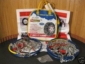 Les Schwab Snow Tire Chains Quick Fit No 1550 New Old Stock