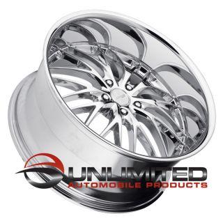 "19"" MRR GT1 Chrome Wheels Rims Fit BMW 630CI 645CI 650CI M6 2003 2010"