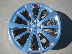 """Exchange Your Stock 4 New 19"""" Factory Lincoln MKS Chrome Wheels Rims 09 12"""