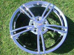 "18"" 19"" New Corvette Chrome Wheels Rims Exchange"