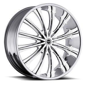 "18"" inch 5x100 5x4 5 Chrome Wheels Rims 5 Lug Acura Honda Toyota Nissan Mazda"