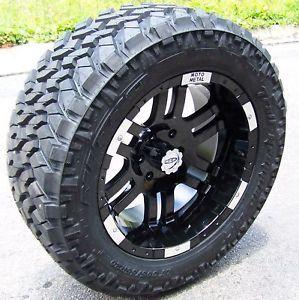 "20"" Moto Metal 951 Wheels Nitto Trail Grappler Tires for Dodge Durango"
