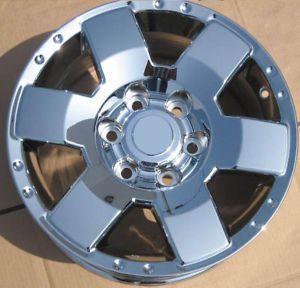 "Exchange 4 New 17"" Factory Toyota FJ Cruiser Tundra Sequoia Chrome Wheels Rims"