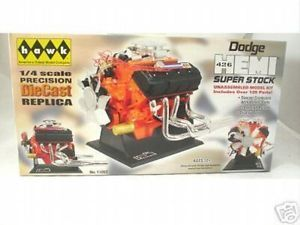 Dodge Hemi 426 Super Stock 1 4 Engine Model by Hawk