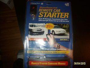 Designtech Remote Control Car Starter Autocommand New in Box 20021