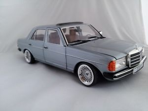 1 18 Scale Mercedes Benz W123 AMG with BBs Tuning Wheels Limited