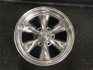 "American Racing 5657838 Wheel 6 Spoke GM 6 Lug 17x8"" 5"" BS Polished"