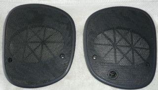 Chevy S10 Blazer Bravada Dash Speaker Grill Covers Black