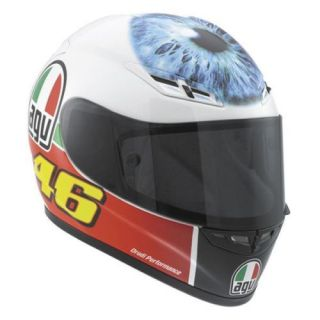 Agv GP Tech Rossi Mugello Eyeball Helmet Red Green White