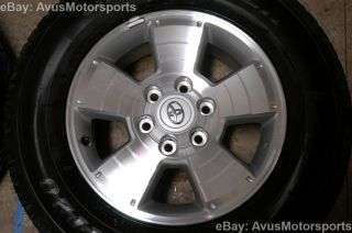 "2013 Toyota Tacoma 17"" Wheels Tires TRD Land Cruiser 4Runner LX 470 Tundra"