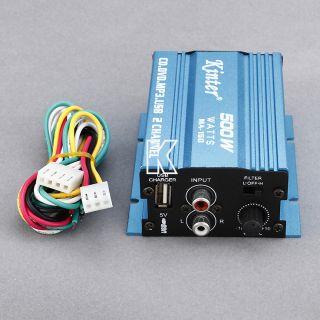 MA 150 2CH 500W Digital Player CD USB  Motorcycle Car Stereo Audio Amplifier