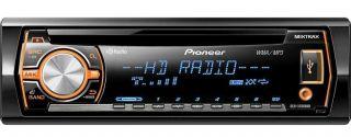 Pioneer DEH X5500HD CD Aux MP3 Usb iPod Pandora player HD Radio Car Receiver 884938177733
