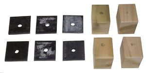 1947 1948 1949 1950 1951 1952 1953 Bed Mounting Blocks Pads Chevy GMC Truck