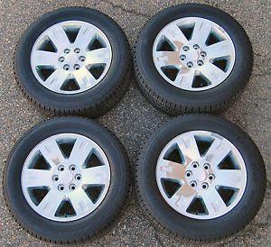 "Factory 20 20"" GMC Sierra Yukon Wheels Bridgestone Tires Set of Four 5307"