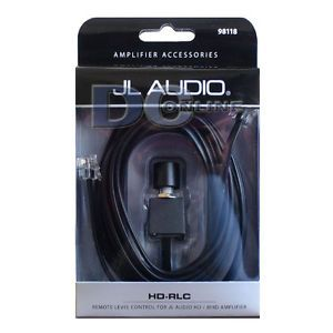 JL Audio HD RLC Car Audio Remote Bass Control for JL HD MHD Series Amplifier
