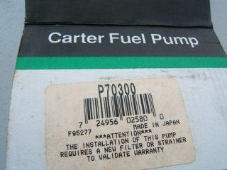 Carter P70300 Electric Fuel Pump 1974 Datsun 260z Jidosha Kiki