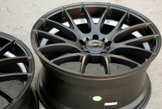 "ASA GT5 20"" Black Rims Wheels Camaro SS Staggered 09 Up 20 x 8 5 10 5H 26"