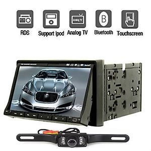 "7"" Touchscreen in Dash Car CD DVD  Player Stereo USB SD Bluetooth USA Stock"