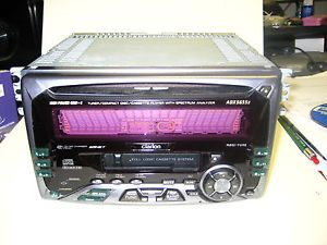 Clarion 2 DIN ADX5655Z Car CD Player Cassette Player in Dash Receiver 45W x 4