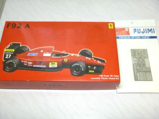 1 20 Fujimi Ferrari F92A 1992 with Photo Etched Parts F1 Model Kit Made in Japan