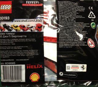 Shell V Power Ferrari Model Lego Collection Lego 30193 250 GT Berlinetta