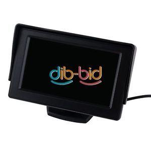 New 4 3inch TFT Car LCD Rearview Visor Mirror Monitor Car Auto Rear View Camera