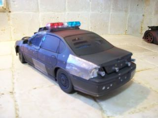 "1 18 ""Death Race"" Chevy Impala Police Custom Battle Damage UT Mad Max Tuning"
