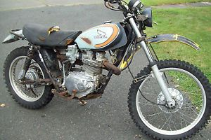 Honda XL250 Parts Bike Many Good Usable Parts SL XL 250 Barn Fresh 1974