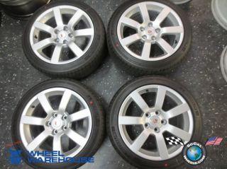 Four 2013 Cadillac ATS Factory 17 Wheels Tires Rims 9598561 Michelin MXM4