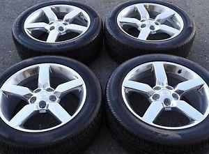 "19"" Camaro SS Polished Wheels Rims Tires Factory Stock Wheels Rims 5442"