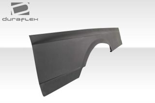 Ed 107200 81 91 Mercedes s Class W126 2dr AMG Look Wide Body Rear Fender Flare
