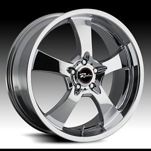 20 inch Chrome Raceline Wheels Rims Land Rover Discovery LR3 LR4 HSE Range 5x120