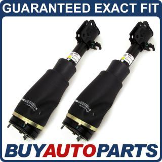 Pair Remanufactured Front Air Strut Shock Spring Assemblies for Range Rover