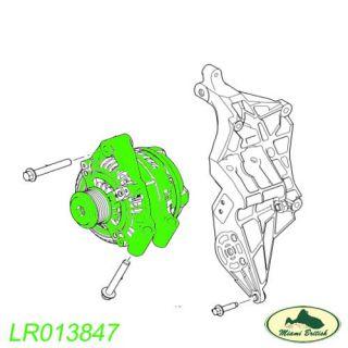Land Rover Alternator TC Lion Diesel 3 0L 24V V6 2 7L RR Sport LR4 LR013847 ND