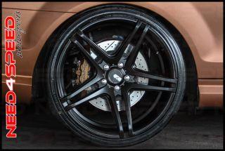"""20"""" XO Caracas Matte Black Concave Wheels Rims Fits Infiniti M35 M37 M45 M56"""