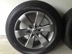 "2013 Ford F150 F 150 FX4 20"" Factory Hyper Silver Wheels Rims Tires"