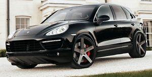 """22"""" Niche Milan Wheels Porsche Cayenne Panamera Audi Q7 VW Touareg 22x10"""" Rims"""