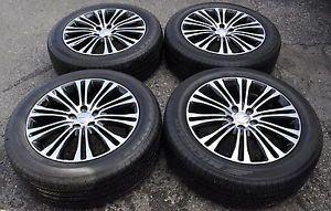 """19"""" Chrysler 300 Black Wheels Rims Tires AWD Models 2419"""