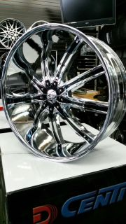 26 inch Dcenti DW29 Wheels Rims and Tires Chevy GMC Toyota Infiniti Cadillac