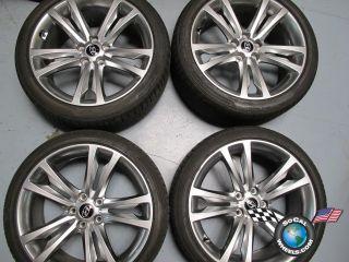 "Four 09 11 Hyundai Genesis Coupe Factory 19"" Wheels Tires Rims 70790 70791"