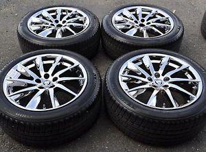 "18"" Jaguar XF Chrome Wheels Rims Tires Factory Wheels 2013 2014 59885"