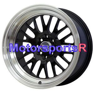 16 16x8 XXR 531 Black Wheels Rims Deep Dish Lip 4x114 3 89 94 Nissan 240sx S13