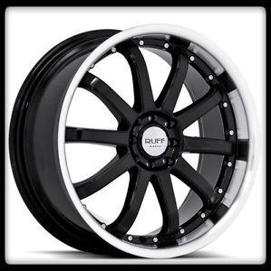 18 Black Racing Rims