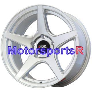 16 16x8 XXR 535 Silver Concave Wheels Rims 5x114 3 Stance 06 12 13 Mazda Miata