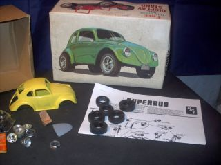 Model Parts Lot VW Super Bug Gasser not Complete and Used