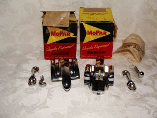 2 Mopar Chrysler Engineered Parts 1950 413 Mechanism Assembly Locking Set
