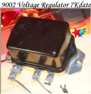 Corvette Parts Delco Remy May Voltage Regulator 9002 7K 1957 Rebuilt