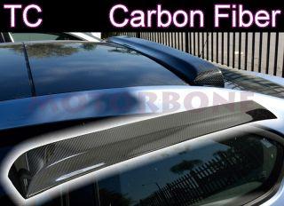 Scion TC 05 10 2D Coupe Rear Window Roof Visor Spoiler Lip Real Carbon Fiber New