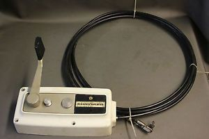 1960 70's Vintage Chrysler Outboard Motor Control Marine Boat 15' Cables Parts